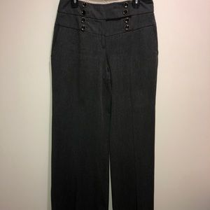 Anthropologie Elevenses Sz 10 Gray Wide Leg Pants